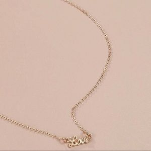 3/$30 💛 Dainty Love Necklace